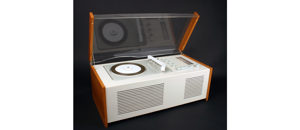 "First ridiculed, then it became cult – the radio-record player SK4 designed by Dieter Rams and Hans Gugelot in 1956 was also called ""Snow White's Coffin""."