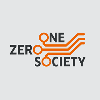 "Logo containing the words ""One Zero Society"""