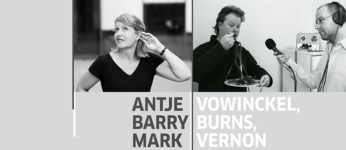 Antje Vowinckel, Barry Burns, Mark Vernon