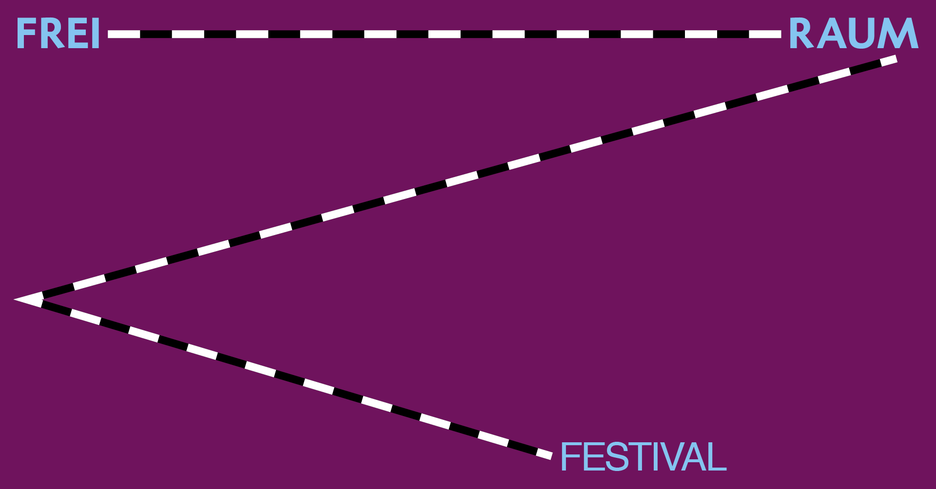 The Logo of Freiraum Festival 2020
