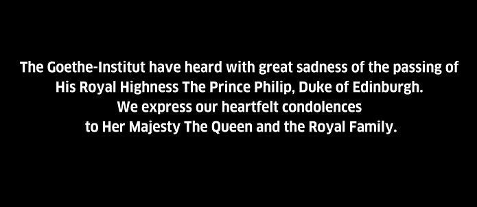 Text expressing condolence on the passing of HRH The Duke of Edinburgh